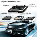 hid de automóviles integrado luces de cabeza para toyota camry 2011