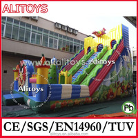 Factory price inflatable bouncy castle slide, kids jumping toys, party equipment for sale