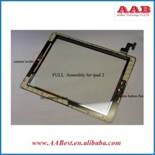 Full testing glass digitizer for ipad 2 front screen replacement full assembly