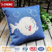 2015 Creative Fashion Fish Design Cushion Home Decorative Cushion Cover,Cartoon Chair Cushion Pillow