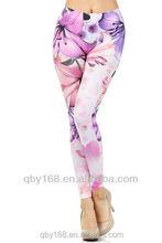 Mature women zumba pants seamless yoga jogger printed leggings