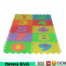 Melors washable safe education soft eva foam interlocking floor mats/eva puzzle mat for kids Baby Crawling Assembled