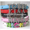 DIY name personalized dog collar,cat collar,pet collar for big and small dogs