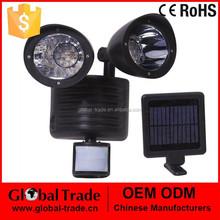 Solar Motion Sensor Light.22 LED Solar Power Rechargeable Pir Motion Sensor Security Light Outdoor Garden.H0027