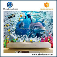 Clearly blue seaworld 3d ceramic floor tile and wall tile prices