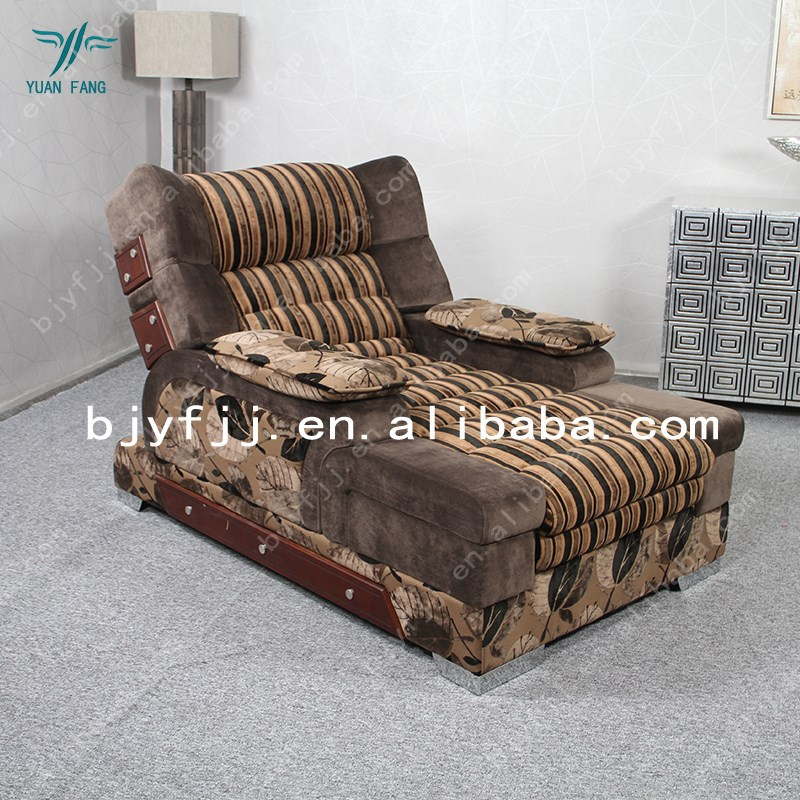 Hot Sale Horizontal Electric Recliner Sofa Solid Wood Edge
