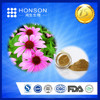 15 years GMP + QS+ ISO manufacturer for 100% pure natural echinacea extract polyphenol 4%-7% chicorid acid 2% for Immunizing