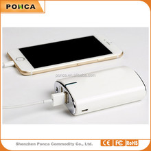 Free sample Customized logo portable 8800mAh power bank For Samsung phone For iPhone For iPad