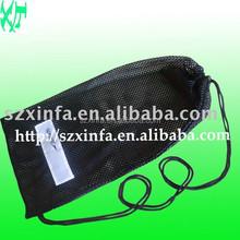 large polypropylene drawstring leno mesh bags, recycled mesh bags