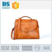 Beautiful Good Feedback Wholesale 100% Genuine Leather fashion and elegant nylon lady handbags