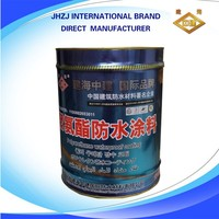 oil based Polyurethane waterproof spray coating, waterproof for ground and wall