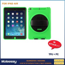 2015 fashion colorful flip stand leather case for ipad5