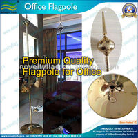 Office flagpole, Preminum High quality 245cm high (NF23M03015)