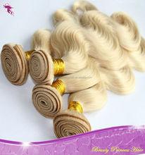 Beautiful Russian hair, Human Hair extensions 613 Blonde Hair piece, european hair