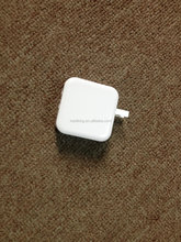 Square shape 4.8A 2 port wall charger folding charging for phone