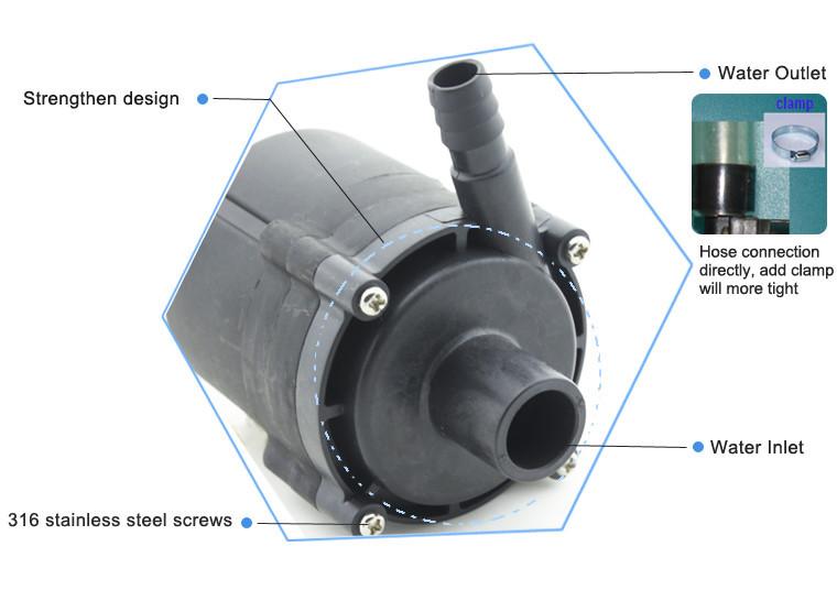 TOPSFLO Micro DC Submersible Pump,centrifugal submersible pump, submersible water pump