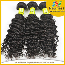 Wholesale best quality Grade 8A Malaysian french curly hair extensions human hair