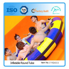 Multi Rider Inflatable Round raft for waterpark