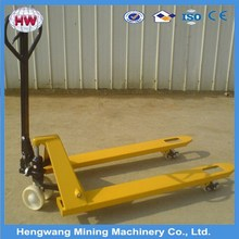 China low price hand fork lifter/hand pallet fork lifter /manual pallet truck