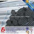 BS1387 tubo galvanizado 4 pulgadas para el precio andamios