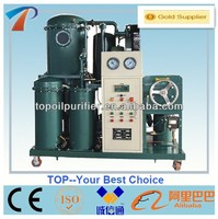 Stainless steel used cooking oil purifying machine remove water,gas,acid,impurities,easy to operate