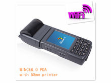 TS-1000 cheapest courier pda with built-in printer wifi