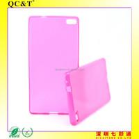 Hot Sell Soft TPU Inner Scrub Phone Case Cover for Huawei P8