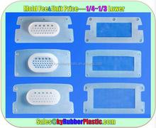Compression Molded Silicone Gasket / Custom Design Gasket Silicone / Die Cut Silicone Gasket