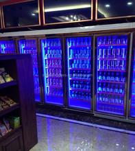 Upright Freezer Display Glass Door Internal Led Light Door