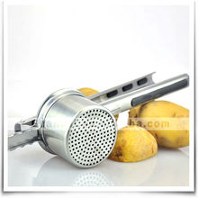 4pcs stainless steel potato ricer with silicone handle