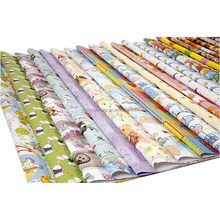 Customize a variety of gift wrapping paper size