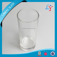 High white glass material heat resistant drinking glasses wholesale