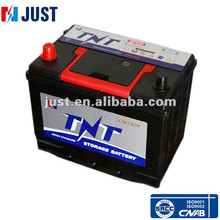 MF N50 maintenance free automotive battery with Korean handle