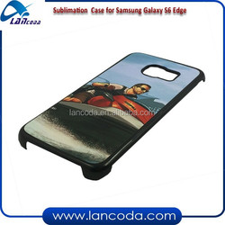 cheap price sublimation cell phone case for Samsung Galaxy S6 Edge G9250,sublimation mobile case,2d sublimation phone cover