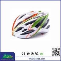 Adult In-Mold Mountain Peak Bike Helmet, 3 color EPS+PVC Novelty Bicycle Helmets
