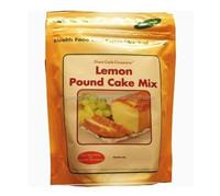 bottom gusset plastic bag for lemon pound cake mix/snack bags