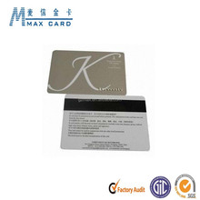 Magnetic stripe gift card