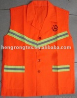 fluorescent fabric for safety cloth