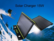 Portable Folding Solar Panel Battery Sun Charger with 23% solar conversation rate