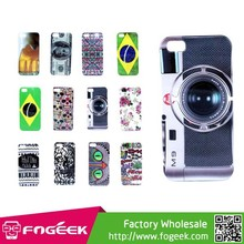 Fogeek Hot Selling for iPhone 5s 5 Overflowing Glossy Back Hard Plastic Case