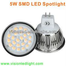 High Quality 5W 3020 SMD MR16 LED Light