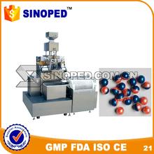 soft gelatin capsule filling machine; automatic soft gelatin capsule making machine