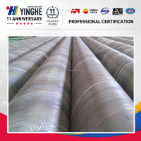 spiral welded steel pipe for oil and gas manufacturing astm standard steel tube China export