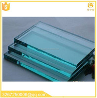 clear laminated glass 6.38mm laminated tempered glass 2-22mm thickness