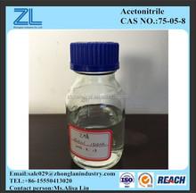 Acetonitrile HPLC grado, cas. : 75-05-8