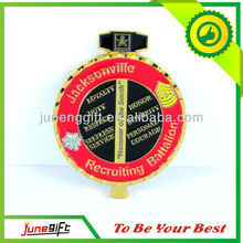 Cheap gold plate brass challenge coins for promotional gift
