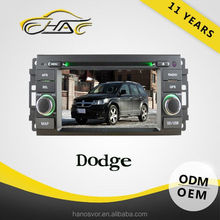 auto gps navigation system bulit in dvd player for jeep dodge