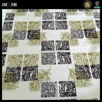 PONY design Printed velvet fabric for trim