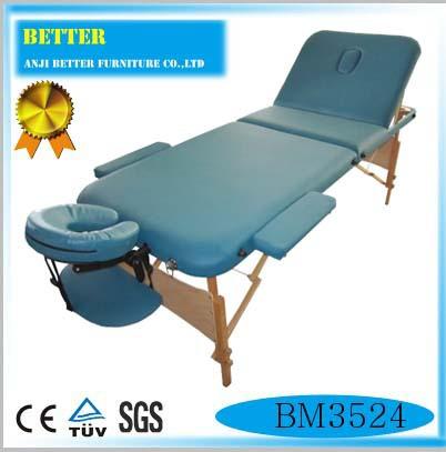 portable table de massage en cuir lit de massage pour spa salon de tatouage. Black Bedroom Furniture Sets. Home Design Ideas