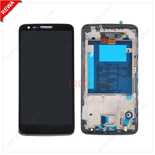 Lowest Price 100% Original for LG G2 D802 LCD Touch with Frame